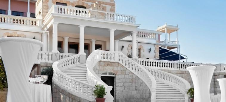 Hotel The Westin Dragonara Resort: Freitreppe MALTA