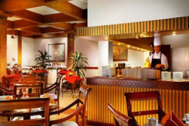 Hotel Grand Luley Resort: Restaurant MANADO
