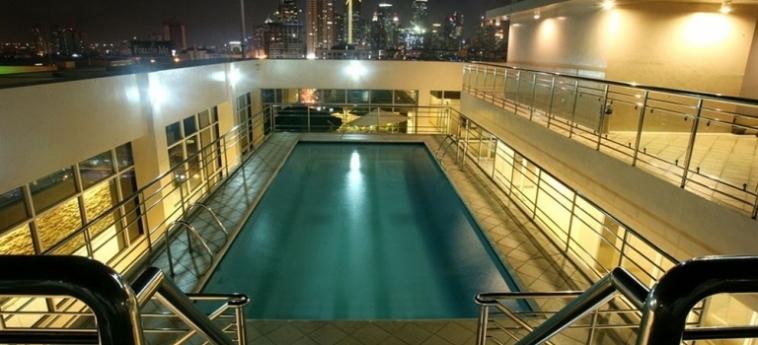 Hotel Herald Suites Solana: Corridoio MANILA