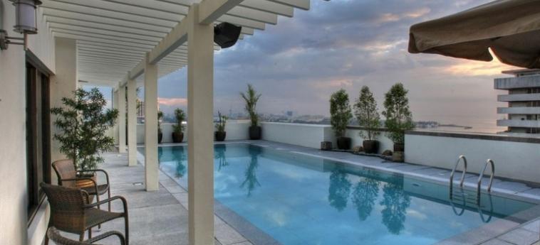 Armada Hotel: Außenschwimmbad MANILA