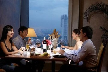 Hotel Discovery Suites: Lounge Bar MANILA