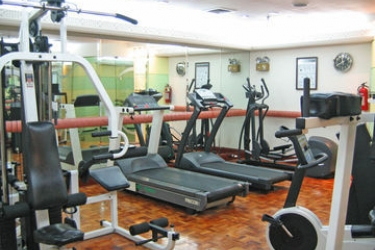 The Heritage Hotel Manila: Centro Fitness MANILA