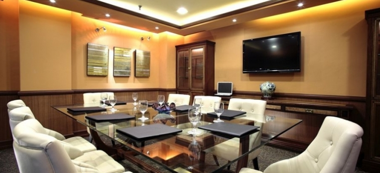 Hotel Herald Suites Solana: Salle de Réunion MANILLE