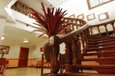 Malvar Hostel: Entrée MANILLE