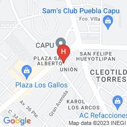 Mapa PLAZA POBLANA