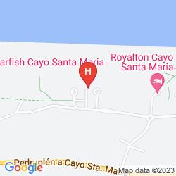 Mapa STARFISH CAYO SANTA MARIA