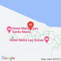 Mapa MELIA LAS DUNAS