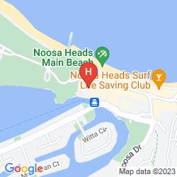 Mapa SOFITEL NOOSA PACIFIC RESORT