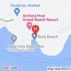 Mapa HOTEL CROATIA