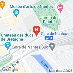 Mapa HÔTEL DE BOURGOGNE