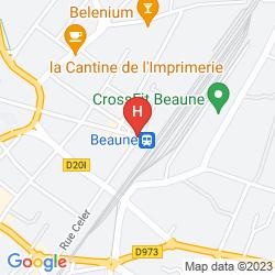 Mapa LOGIS DE FRANCE
