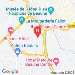 Mapa IBIS BEAUNE CENTRE