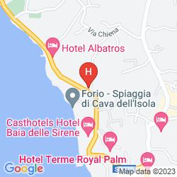 Mapa CAVA DELL'ISOLA
