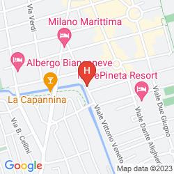 Mapa HOTEL CRYSTAL
