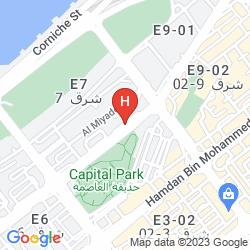 Mapa CORNICHE HOTEL ABU DHABI