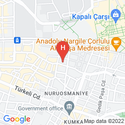 Mapa MOMENTO BEYAZIT