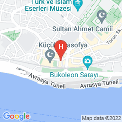 Mapa SIESTA HOTEL ISTANBUL