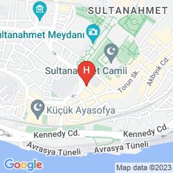 Mapa YUNUS EMRE
