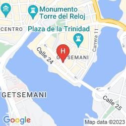 Mapa TOM SUITES