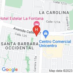 Mapa SONESTA BOGOTA HOTEL