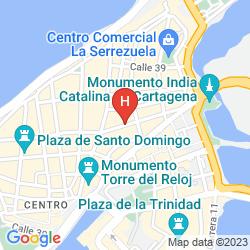 Mapa SANTA CRUZ CARTAGENA