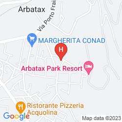 Mapa ARBATAX PARK - DUNE
