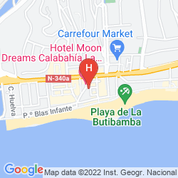 Mapa HOTEL CALA BAHIA