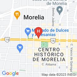 Mapa ALAMEDA CENTRO HISTÓRICO