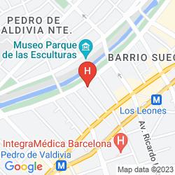 Mapa HOTEL BOUTIQUE LE REVE