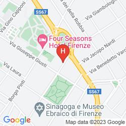 Mapa ALBERGO LOSANNA