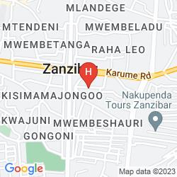Mapa DOUBLETREE RESORT BY HILTON HOTEL ZANZIBAR - NUNGWI
