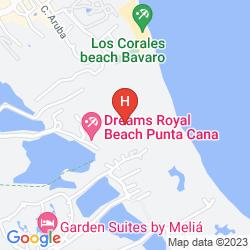 Mapa SECRETS ROYAL BEACH PUNTA CANA