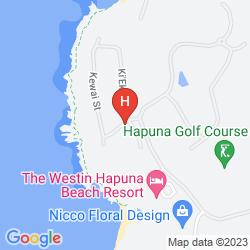Mapa THE WESTIN HAPUNA BEACH RESORT