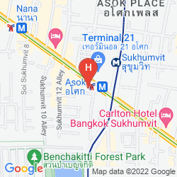 Mapa SHERATON GRANDE SUKHUMVIT, A LUXURY COLLECTION HOTEL, BANGKOK