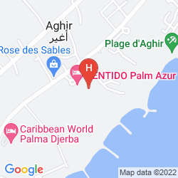 Mapa CARIBBEAN WORLD THALASSO DJERBA - ALL INCLUSIVE