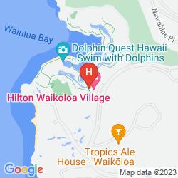Mapa HILTON WAIKOLOA VILLAGE