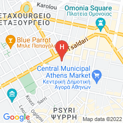 Mapa SOHO HOTEL ATHENS