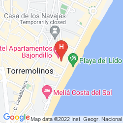 Mapa APARTAMENTOS BAJONDILLO