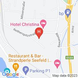 Mapa MENTHOF HOTEL
