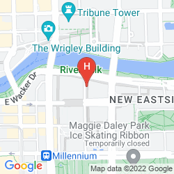 Mapa HYATT REGENCY CHICAGO