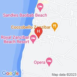 Mapa ROYAL ZANZIBAR BEACH RESORT