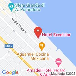 Mapa EXCELSIOR HOTEL PESARO