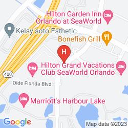 Mapa RESIDENCE INN ORLANDO AT SEAWORLD