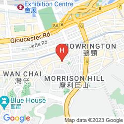 Mapa THE UPPER HOUSE