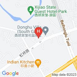 Mapa XIJIAO STATE GUEST HOTEL