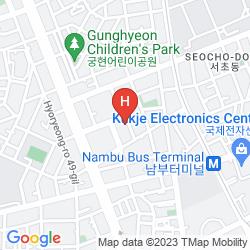 Mapa CHEZLEE HOTEL, SEOUL