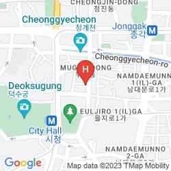 Mapa HOTEL J HILL