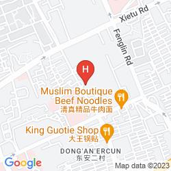 Mapa XUHUI INTERNATIONAL EXECUTIVE SUITES SHANGHAI
