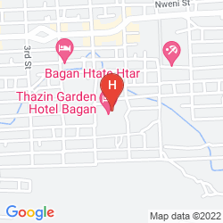 Mapa THAZIN GARDEN