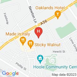 Mapa HAMILTON COURT